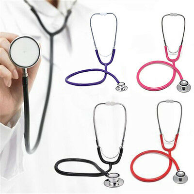 Professional Double / Dual Head Stethoscope for Medical Clinical Classic Doctor