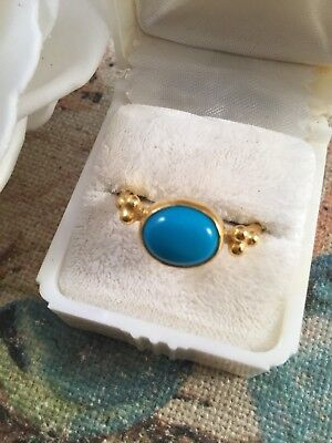 Victorian Vintage Etruscan Antique Revival Jewellery Gold Ring jewelry size 9 S