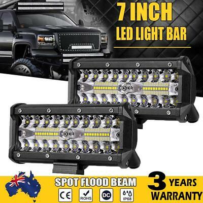 7inch Philips LED Work Light Bar Spot Flood OffRoad Fog Driving 4WD 4x4 Reverse