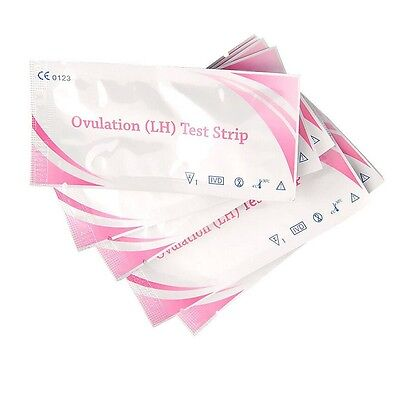 5-50PC Pregnancy Ovulation Test Strips Ultra Early Home Urine Tests One Step Kit