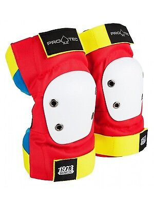 (Small) - Pro-Tec Retro Street Pair of Skateboarding Elbow Pads. Free Delivery