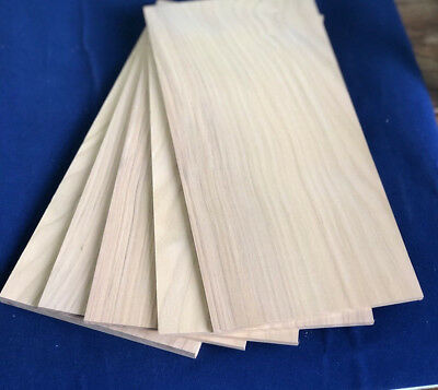 1 × Solid European Cherry wood Sheets 3mm,4mm,6mm or 8mm