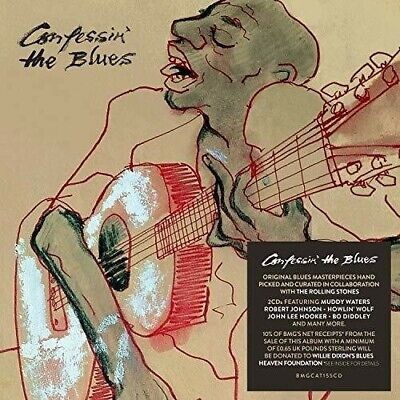 Confessin The Blues - Various Artist (2018, CD NEU)2 DISC SET