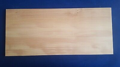 1 × Solid Swiss Pear Wood Sheets 3mm, 4mm or 6mm