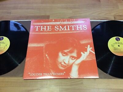 The Smiths Louder Than Bombs Double Lp US Press Ex