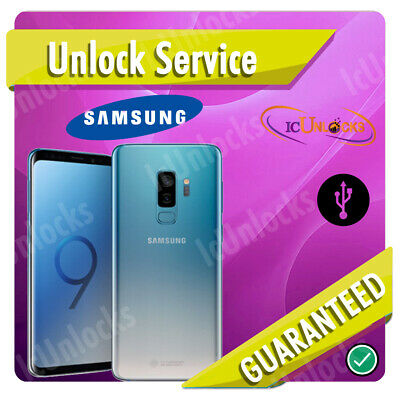 Samsung Galaxy S9 S9+ SPRINT BOOST Permanent Network Unlock Service Remote