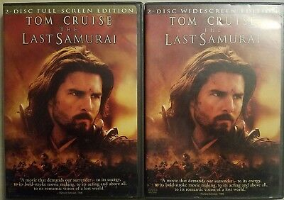 The Last Samurai (DVD 2004) Tom Cruise *Combine Shipping & SAVE! Ships FAST!!!