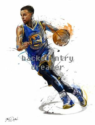 46cfbe82faab STEPHEN CURRY Poster NBA Legend Basketball Poster  36 x 24  1