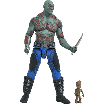 Marvel Select Figures Guardians Of The Galaxy 2 – Drax & Baby Groot