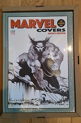 Marvel covers the modern era Artist's Edition IDW Hardcover Sealed New sam keith