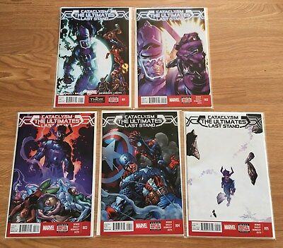 Cataclysm Ultimates Last Stand / Ultimate Spider-Man (lot)Bendis Bagely Marquez