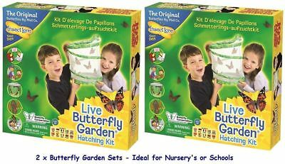 Insect Lore Butterfly Garden X 2 **Twin Pack**