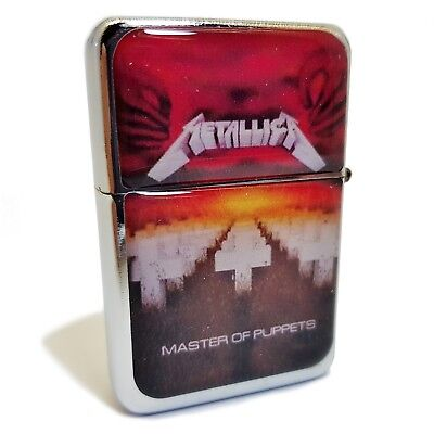 accendino METALLICA MASTER OF PUPPETS lighter briquet feuerzeug da collezione