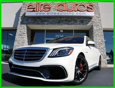 2018 Mercedes-Benz S-Class AMG S63 4MATIC HEADS UP DISPLAY Loaded ONLY 6k MILES 2018 Mercedes S63 S 63 4matic AMG Loaded $158k+ MSRP only 6k miles AS NEW