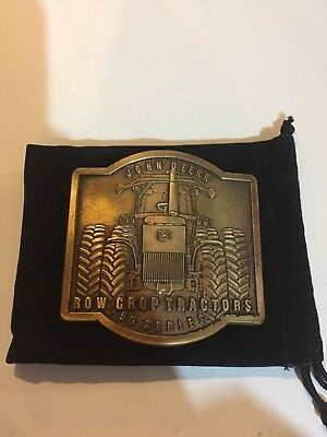 New 1989 John Deere Company 55 Series Row Crop Tractor Belt Buckle