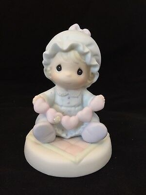 "1996 Precious Moments ""You Have Touched So Many Hearts"" Figurine #272485"