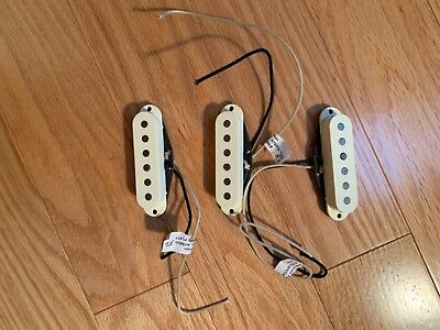 Lindy Fralin Stratocaster Blues Special Pickups -Set of 3 -Neck, Middle & Bridge