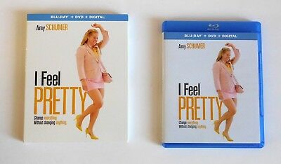 I Feel Pretty Blu-Ray | Dvd | Amy Schumer | Comedy | Slipcover