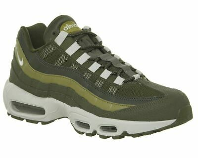 923c8b415f NIKE MENS AIR Max 95 Essential Olive Green Brown Running Shoes ...