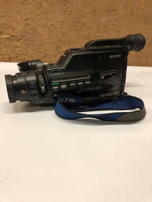 Sony CCD-F401 Video 8mm Video Camera Handycam For Parts or Repair