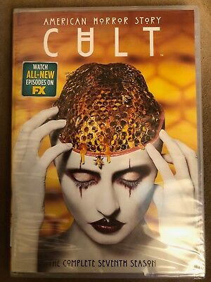 American Horror Story: Cult (DVD, 3-Disc, 2018) NEW