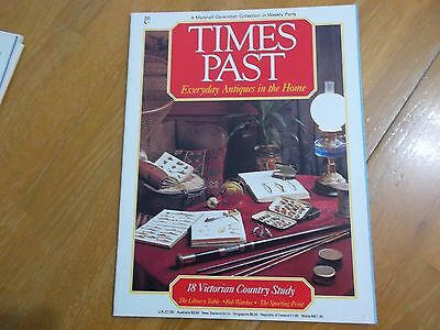 Times Past Mag #18 Victorian Country Study Library Table Fob Watch Sport Print