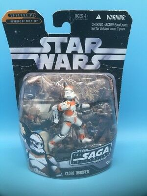 "Star Wars: Clone Trooper 026 Saga Collection 3.75"" Action Figure w/ Mini-Holo"