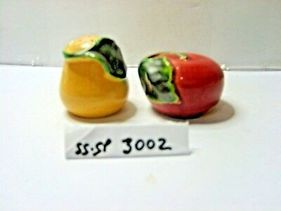 dyson apple and pear  salt and pepper shakers