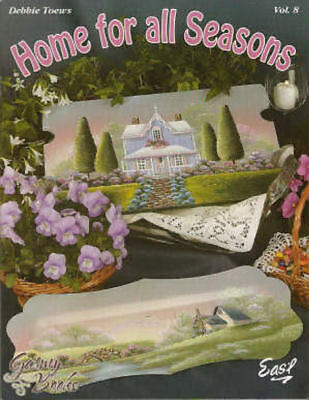 Home for all Seasons Vol. 8 - Debbie Toews Painting Book NEW