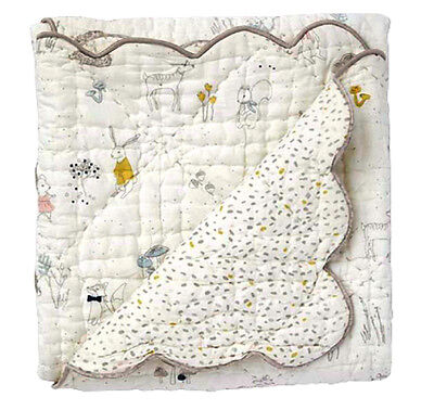 Magical Forest Scalloped Quilt