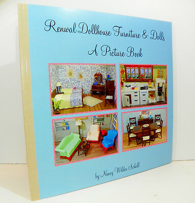 SHIPS FREE! RENWAL PICTURE BOOK Vintage Miniature Dollhouse Furniture Ideal