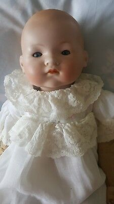 Antique German doll Armand Marseille bisque doll 50 cm .