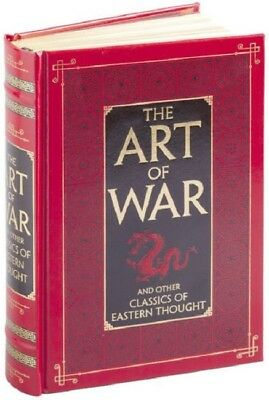 The Art of War by Sun Tzu Leather Bound Book Hardcover Tao Te Ching by Lao Tzu