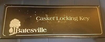 Batesville Company Casket Coffin Locking Key New