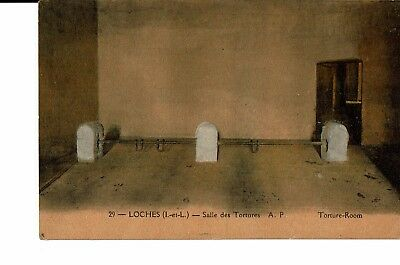 CPA - Carte postale -France -Loches- Salle des Tortures-S3542