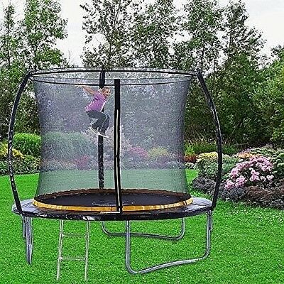 Very Safe 6ft Premium Trampoline with Safety Enclosure, Net, Ladder Anchor Kit