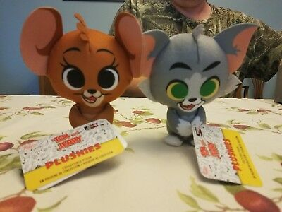 Funko Tom And Jerry Plushies Pair - Gamestop Exclusive