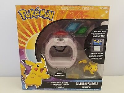 Pokemon Z-Ring Set by TOMY | T19202D | Compatible with 3DS & 2DS | NEW