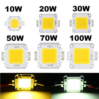10W20W30W50W70W100W LED Chip SMD Flood Power Perles Lumière pour ampoule 1-5pcs