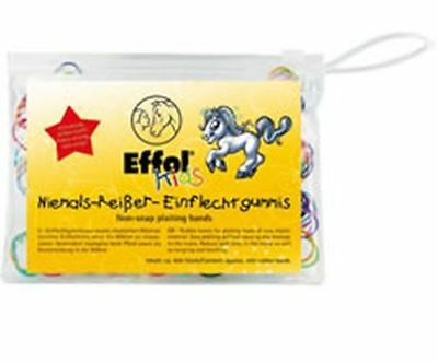 Effol Kids Non-Snap Plaiting Bands - 400 Pack - Efl0007