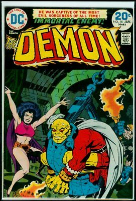 DC Comics The DEMON #16 1974 FN 6.0