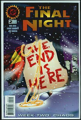 DC Comics The FINAL NIGHT #2 NM- 9.2