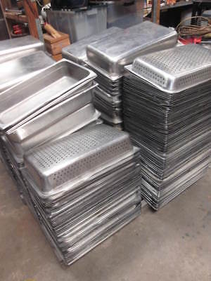 6 VOLLRATH  Stainless Steel Pan large/deep Commercial restaurant bar use NSF