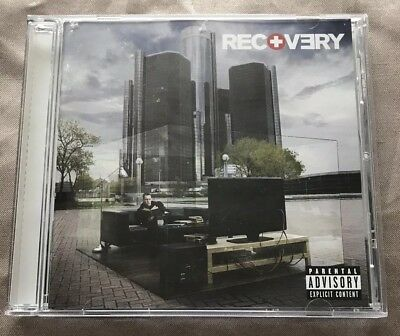 Eminem Recovery 2010 CD Aftermath Interscope Records