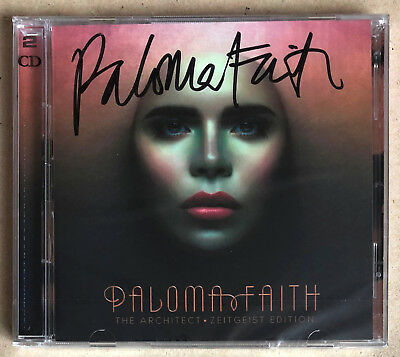 Paloma Faith * The Architect - Zeitgeist Edition * Signed 2Cd Set * Bn & Sealed!