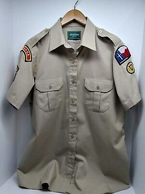 SEVENTH DAY ADVENTIST Pathfinder XLarge Counselor Uniform Shirt Texas  Conference