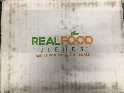 12 Real Food Blends Salmon Oats & Squash box case 2020 FREE PRIORITY AIEY