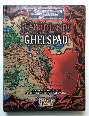 Ghelspad - Scarred Lands Campaign Setting - Sword & Sorcery d20 WW8325