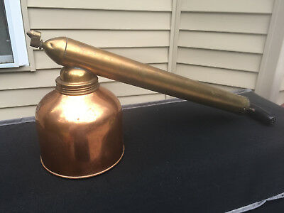 Vintage BLIZZARD Continuous D. B. Smith & Co. Copper & Brass Insecticide Sprayer