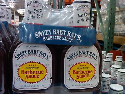 Sweet Baby Ray's Barbecue Sauce 2 x 40 oz bottles Ray